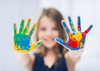 meisje-handen